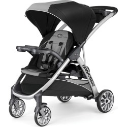 Chicco Bravo For 2 Double Stroller Zinc, Tan