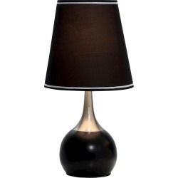 Ore International Table Lamp - Black found on Bargain Bro India from target for $32.49