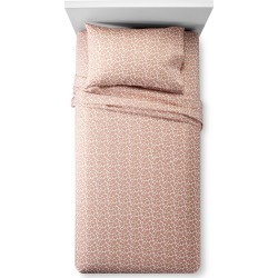Metallic Jewels Sheet Set (Full) Pink - Pillowfort found on Bargain Bro India from target for $24.99