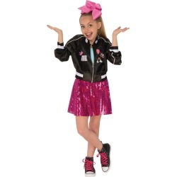 Halloween Girls' JoJo Siwa Costume Jacket - Small, Girl's, MultiColored found on Bargain Bro Philippines from target for $24.49