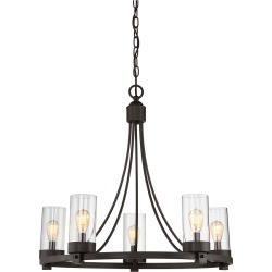 Ceiling Lights Chandelier Oil Rubbed Bronze - Aurora Lighting found on Bargain Bro India from target for $178.99