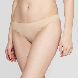 Women's Bonded Micro Thong - Auden Pearl Tan L, Size: Large, White Tan found on Bargain Bro India from target for $5.00