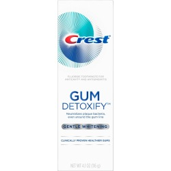Crest Gum Detoxify Gentle Whitening Toothpaste For Gum Care - 4.1oz found on Bargain Bro Philippines from target for $6.99