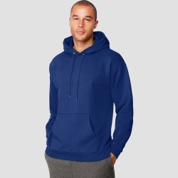 Hanes Men's Big & Tall Ultimate Cotton Pullover Hooded Sweatshirt - Deep Blue 3XL found on Bargain Bro Philippines from target for $20.00