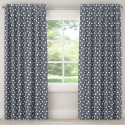 Painted Dot Blackout Curtain Panel (63