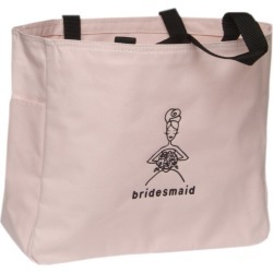 Bridesmaid Wedding Gift Tote - Pink, Girl's