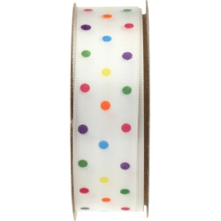 Confetti Dot Fabric Ribbon - - Spritz found on Bargain Bro Philippines from target for $3.99