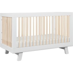 Babyletto Hudson 3-in-1 Convertible Crib - White/Washed Natural found on Bargain Bro India from target for $379.99