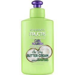 Garnier Fructis Triple Nutrition Curl Nourish Butter Cream leave-In Treatment - 10.2 fl oz
