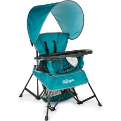 Baby Delight Go With Me Venture Deluxe Portable High Chair - Teal, Blue