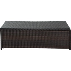 Patio Coffee Table - Brown