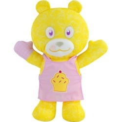 """Doodle Bear 14"""" Plush Toy with 3 Washable Markers - Chef"""