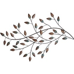 Blowing Leaves Wall Decor - Stratton Home Decor, Brown
