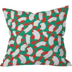 "16""x16""Novelty Zoe Wodarz Peace Pop Throw Pillow Green - Deny Designs"
