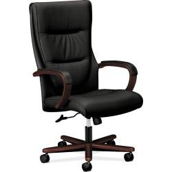 Top flight High Back Executive Chair Leather Black - HON