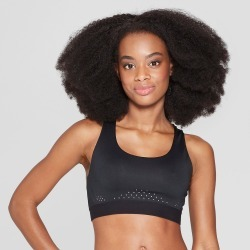 Women's Power Core Compression Medium Support Sports Bra - C9 Champion Black XL found on MODAPINS from target for USD $16.99