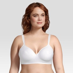 Beauty by Bali Women's Foam Wirefree Bra B540 - White Dot 38D found on Bargain Bro Philippines from target for $22.99
