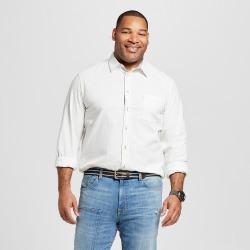 89a43cc305b Men's Big & Tall Long Sleeve Cotton Slub Button-Down Shtarget