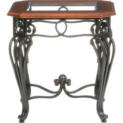 Prentice End Table Black - Aiden Lane found on Bargain Bro India from target for $110.99