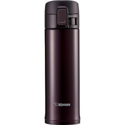 Zojirushi 16oz Stainless Steel Vacuum Bottle with Nonstick Interior - Bordeaux (Red)