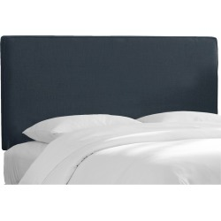 Austin Tufted Headboard - Linen Ocean (Twin) - Skyline Furniture