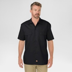d4e1f9887bd Dickies Men s Tall Original Fit Short Sleeve Twill Worktarget
