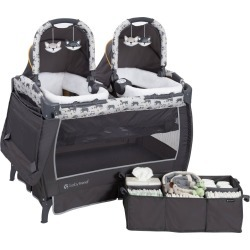Baby Trend Twins Nursery Center Goodnight Forest