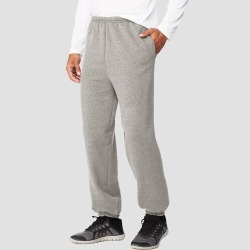 Hanes Men's Ultimate Cotton Sweatpants - Light Steel M, Size: Medium, Light Silver found on Bargain Bro Philippines from target for $8.99