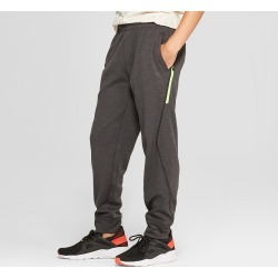 Boys' Jogger Pants - C9 Champion Black Heather XL, Boy's, Black Grey found on Bargain Bro India from target for $22.99