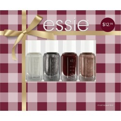 essie Target Exclusive Holiday Collection Mini Kit - 4pc