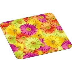 3M Mouse Pad with Precise Mousing Surface - 9 x 8 x 1/8 - Daisy Design, Yellow found on Bargain Bro India from target for $9.69