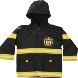 Western Chief Toddler Boys' F.D.U.S.A. Firechief Rain Coats - Black 6, Boy's found on Bargain Bro Philippines from target for $39.99