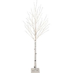 Philips 5ft Pre-lit Artificial Christmas Slim Birch Twig Tree Warm White - LED Dew Drop Lights found on Bargain Bro India from target for $100.00