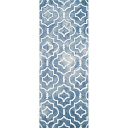 Alyson Accent Rug - Blue / Ivory (2'3