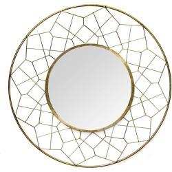 Aimee Mirror Gold - Stratton Home Decor