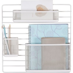 Mesh Additional Wall Organization Tools White - Made By Design