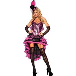 Halloween Women's Burlesque Beauty Costume Medium