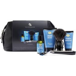 The Art Of Shaving Men's Lavender Travel Shaving Kit With 5 - Bladed Morris Park Razor