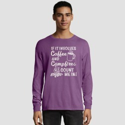 Hanes Men's Long Sleeve National Parks Service T-Shirt - Plum Purple S, Size: Small, Purple Purple found on Bargain Bro Philippines from target for $17.99