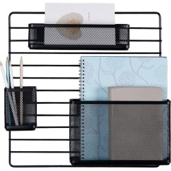 Mesh Additional Wall Organization Tools - Made By Design , Black