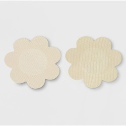 Fashion Forms Women's Full Figure Breast Petals 3 pk - Nude One Size, Women's, White