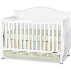 Child Craft Camden 4-in-1 Convertible Crib, Matte White found on Bargain Bro India from target for $240.99