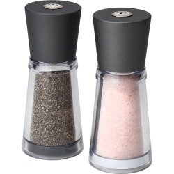 Olde Thompson Salt and Pepper Shaker Set Rhone Pink, Clear Gray found on Bargain Bro Philippines from target for $14.99