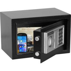 Honeywell 0.28 cu ft/CA Doj Approved Firearms Storage Device, Black