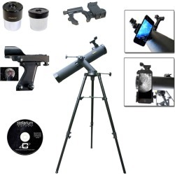Galileo 800x90 Tracker Reflecting SmartScope Telescope - Black found on Bargain Bro India from target for $139.99