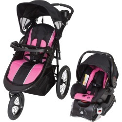 Baby Trend Jogger Travel System Rose, Pink