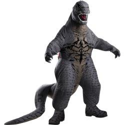 Men's Godzilla Blowup Costume One Size, Multi-Colored
