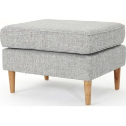 Sawyer Mid Century Modern Ottoman Light Gray - Christopher Knight Home found on Bargain Bro India from target for $86.99