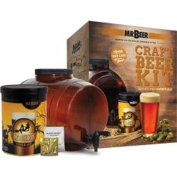 Mr. Beer Bewitched Amber Ale Craft Beer Making Kit, Brown