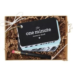 """The One Minute Memory Book"" For Baby Blue"